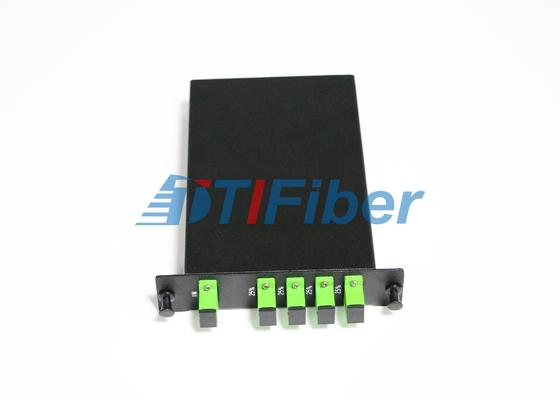 LGX PLC الألياف البصرية الفاصل مع صندوق SC APC البسيط الألياف البصرية محولات