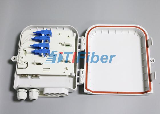 SC 8 ميناء ماء صندوق توزيع الألياف البصرية لشبكات الألياف الضوئية للمنازل